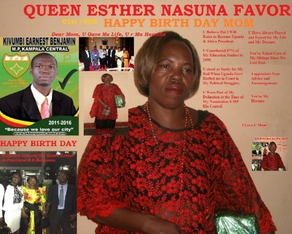 Queen Esther Nasuna Favor