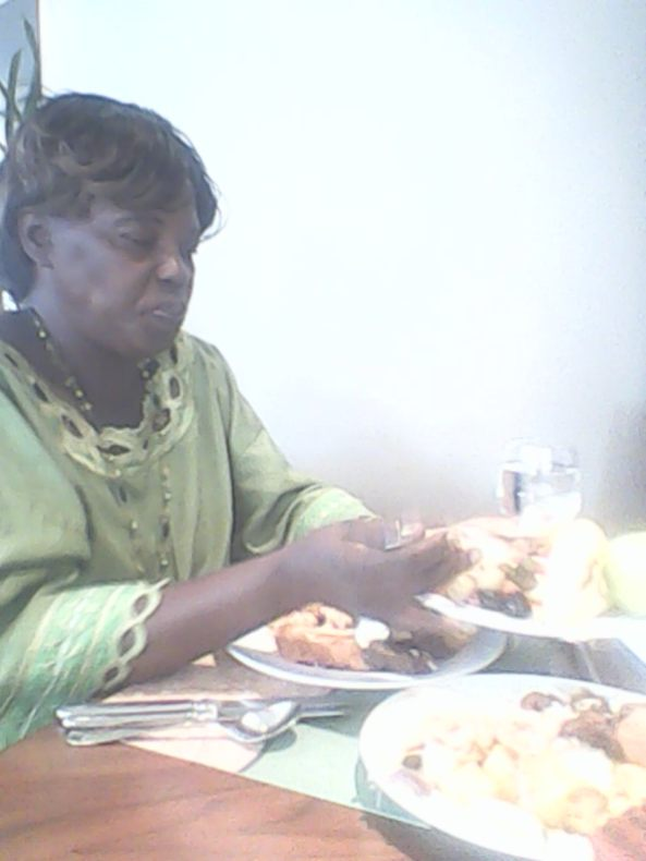 Kivumbi mom Queen Esther for lunch at Sheraton Hotel03