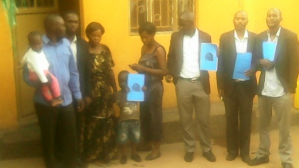 HTP Members Ps Abraham Ssennono Brondon, Kivumbi Earnest Benjamin, Esther Nasuna Favor, Zipporah Nalubega,Peter Matson Mulindwa,Ongera Edigar, Caleb Turyamuhika &Allan Kitonsa in Namasuba1