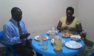 Dr Ronald & Mrs Kisolo at Hon Earnest Benjamin & Mrs Kivumbi Scovia 1st Wedding Anniversary (1)