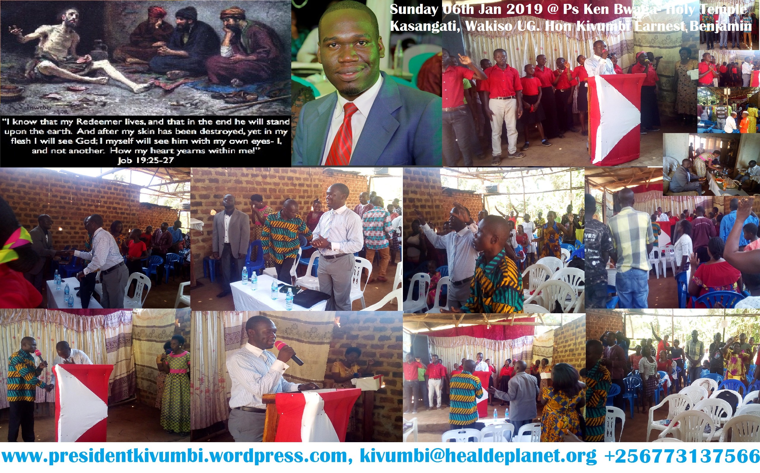 My Redeemer Liveth-Kivumbi Sermon in Kasangati- Job 19:25